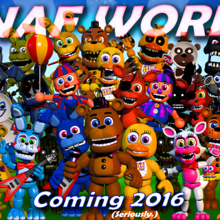 FNAF World Drops