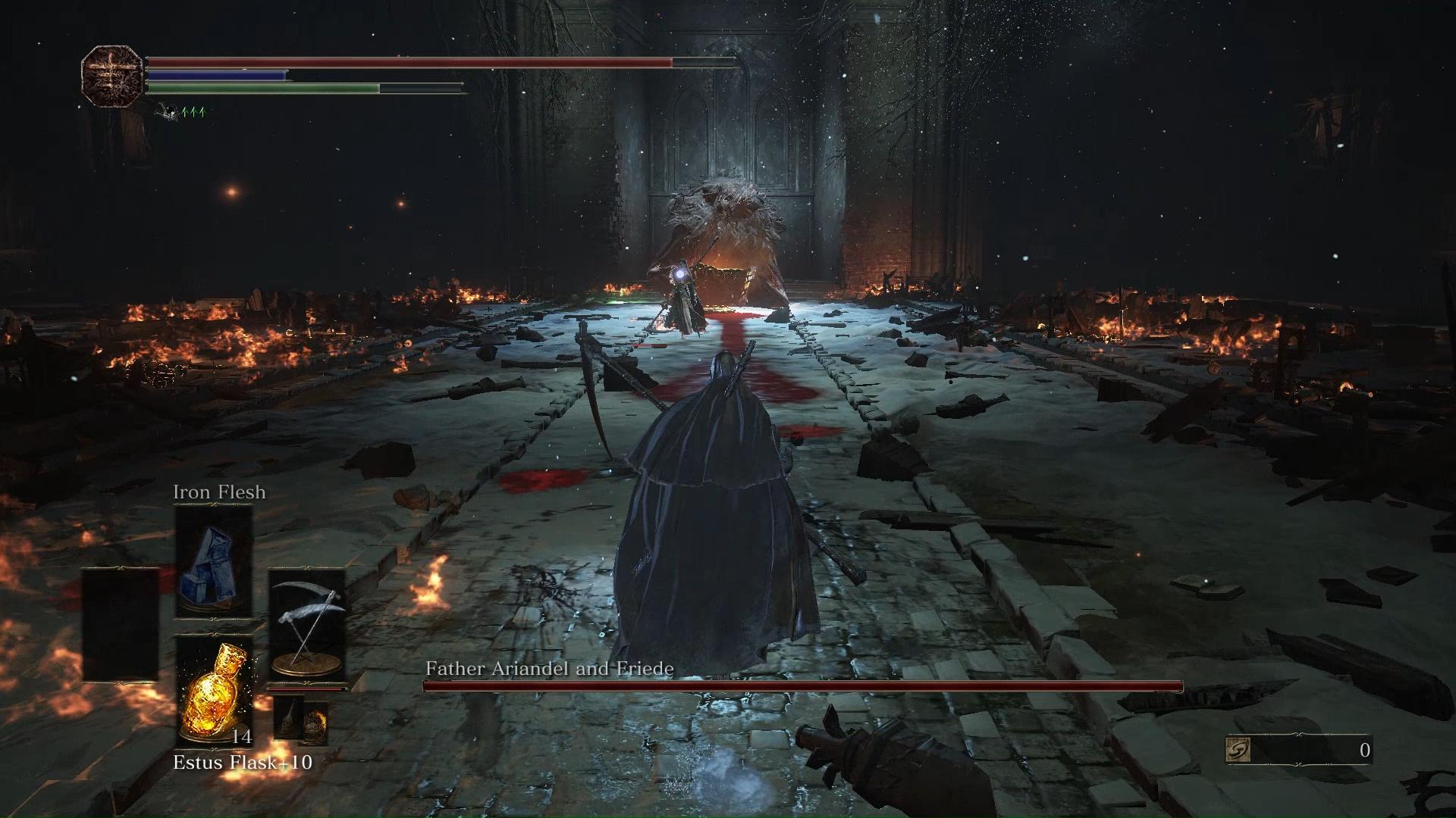 Dark Souls 3 Sister Friede Boss Fight Walkthrough