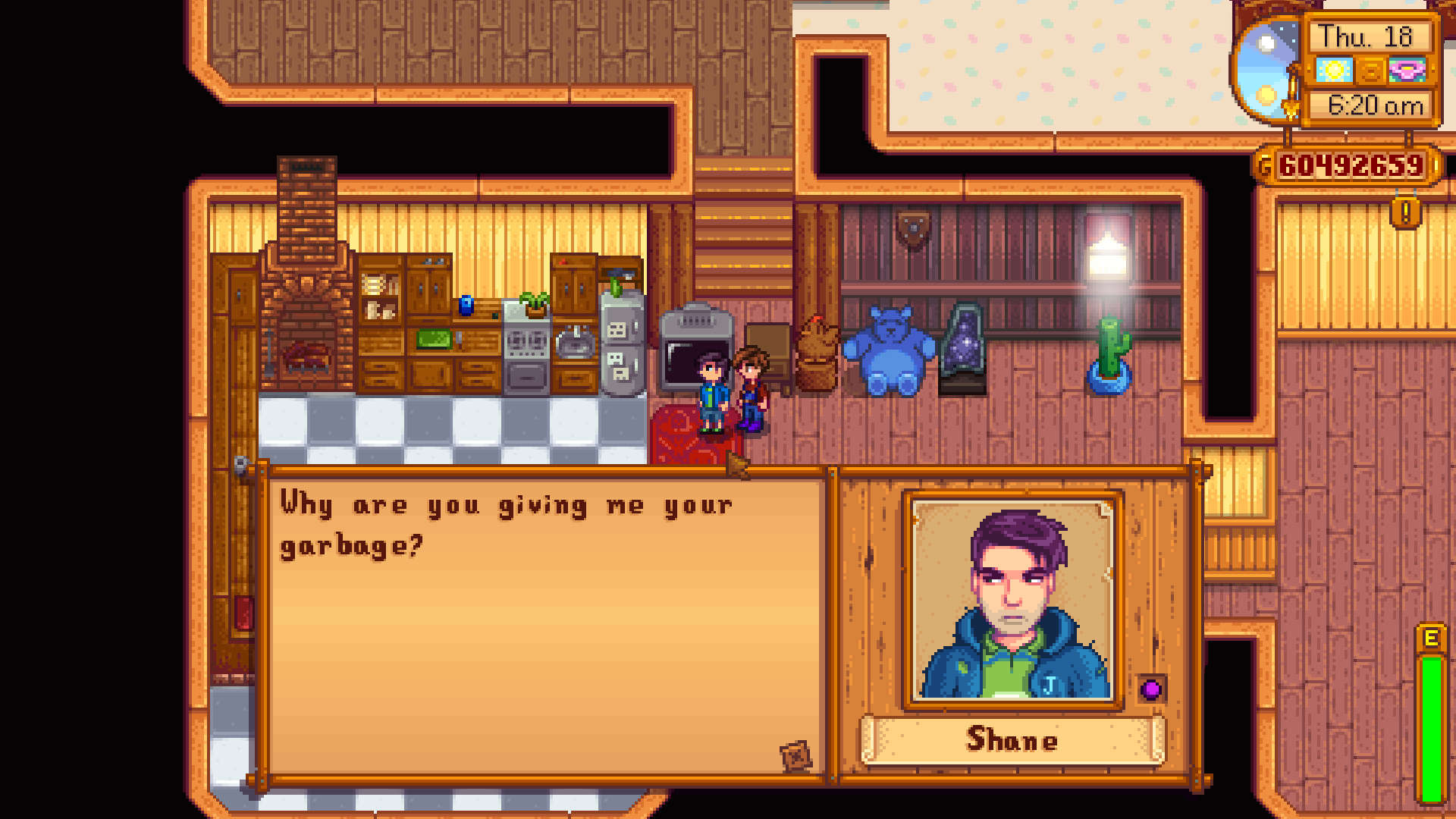 How to Romance Shane in Stardew Valley
