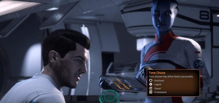 Mass Effect Andromeda Conversation System