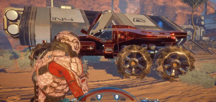 Mass Effect Andromeda Nomad Customization