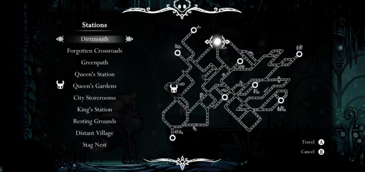 Hollow Knight Stagway Locations