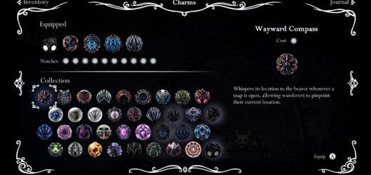 Hollow Knight item list