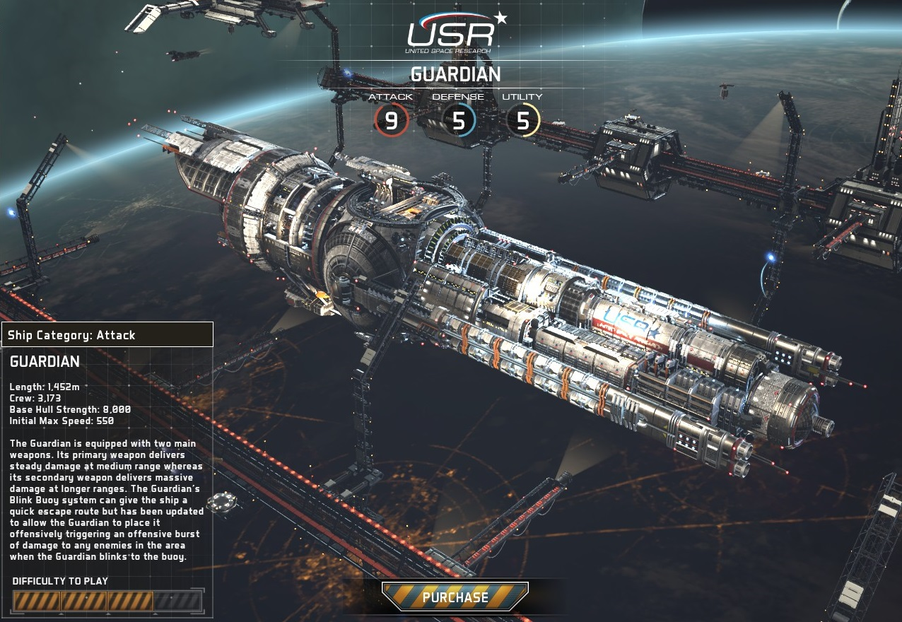 Fractured Space USR Guardian