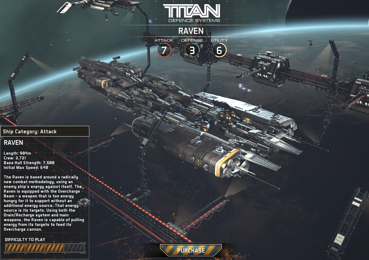 Fractured Space Titan Raven