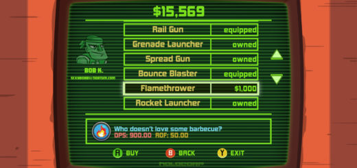 Greedy Guns Weapons List