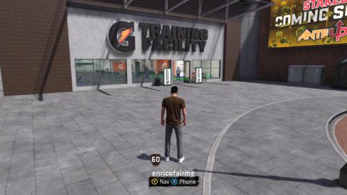 NBA 2K18 G Training Facility