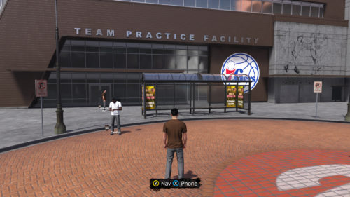 NBA 2K18 Practice Facility