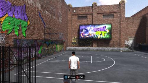 NBA 2K18 Dunk Off