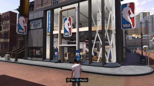 NBA 2K18 NBA Store