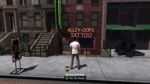NBA 2K18 Tattoos