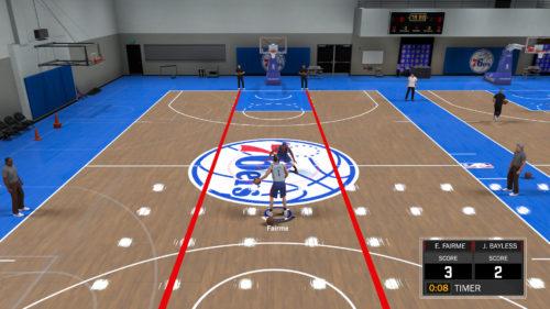 NBA 2K18 Drills