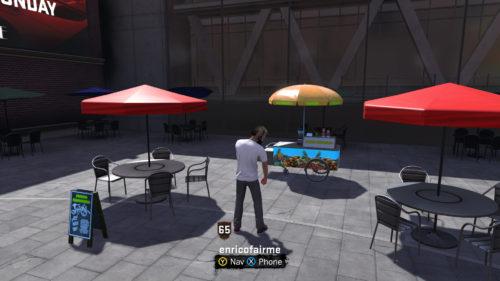 NBA 2K18 Juice Cart