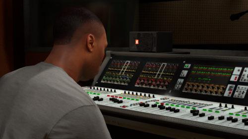 NBA 2K18 Recording Studio