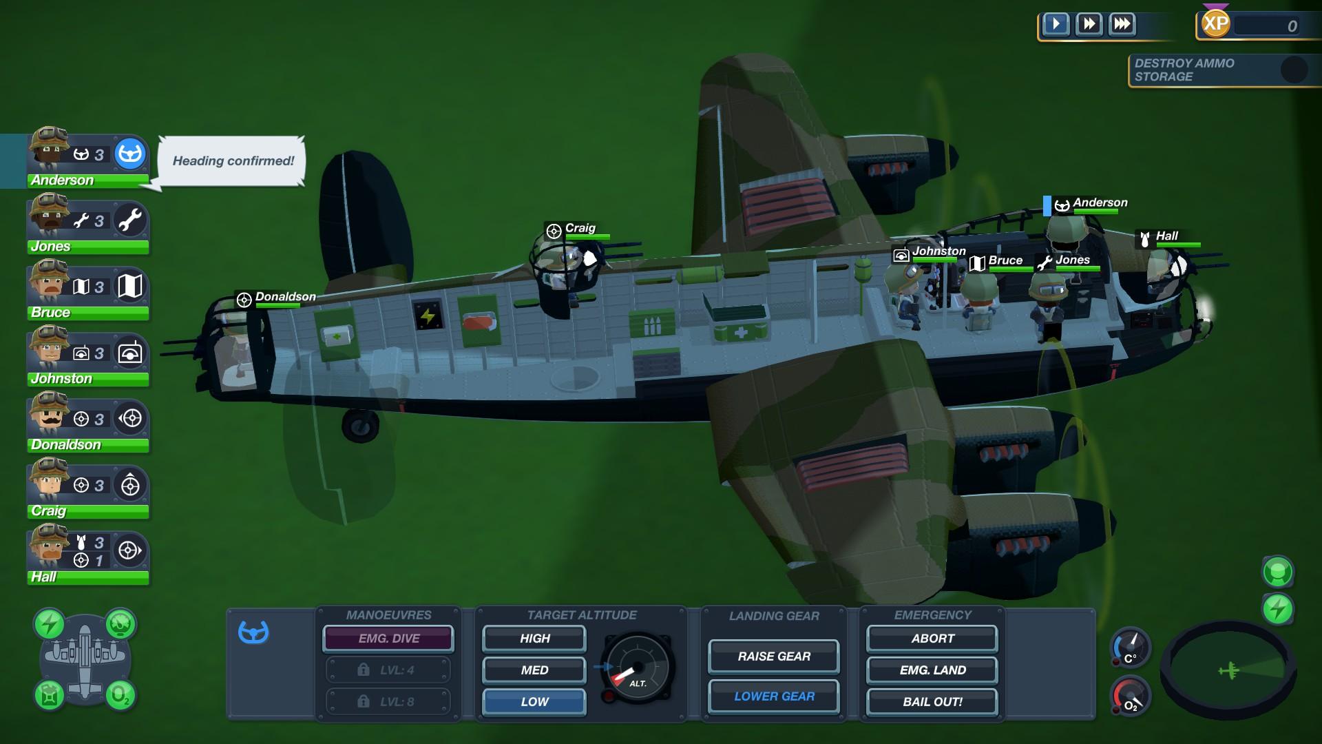 Bomber Crew Plane Cutaway