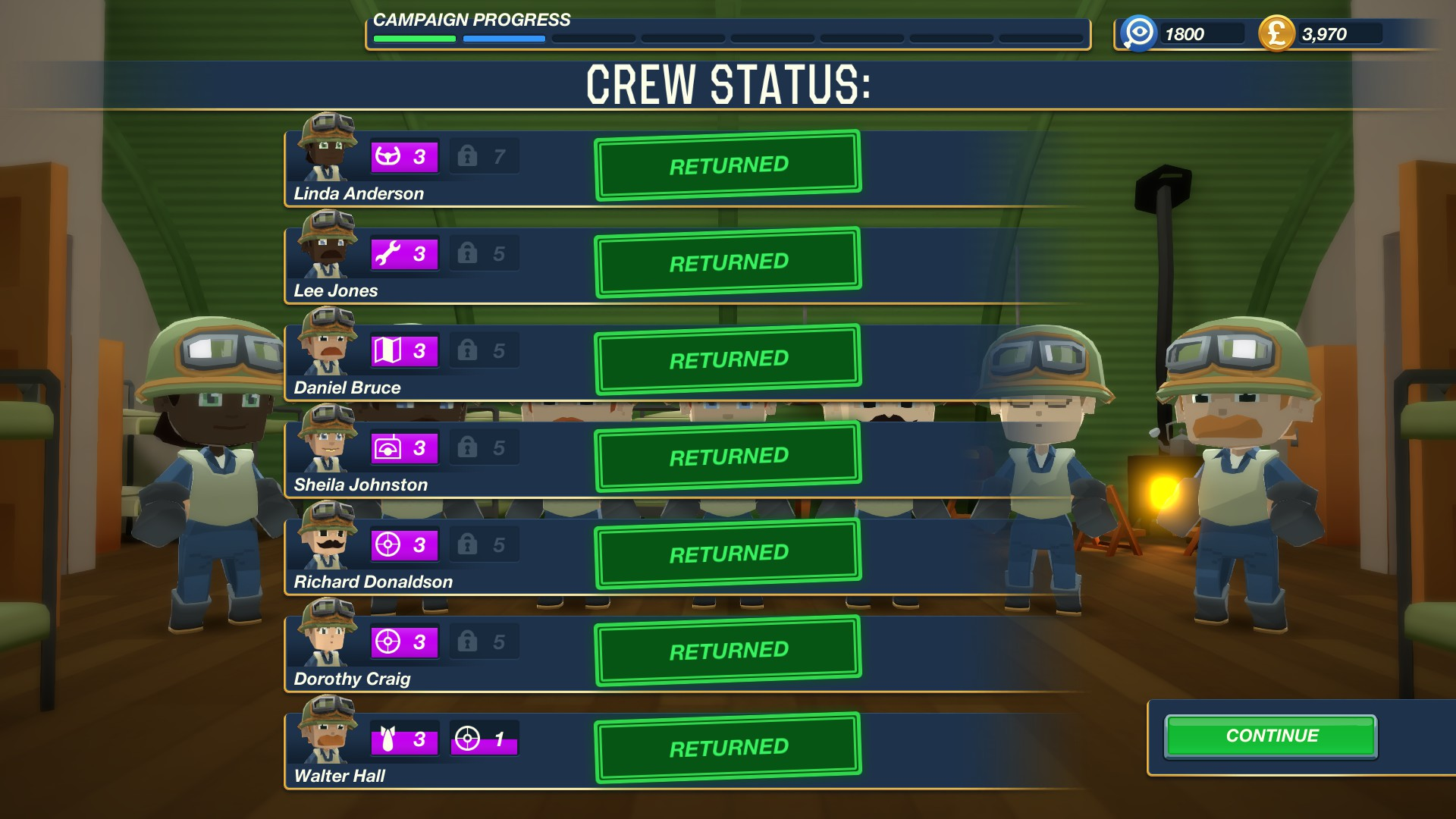 Bomber Crew Mission Complete