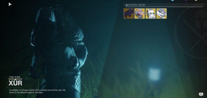 Destiny 2 Xur Guide