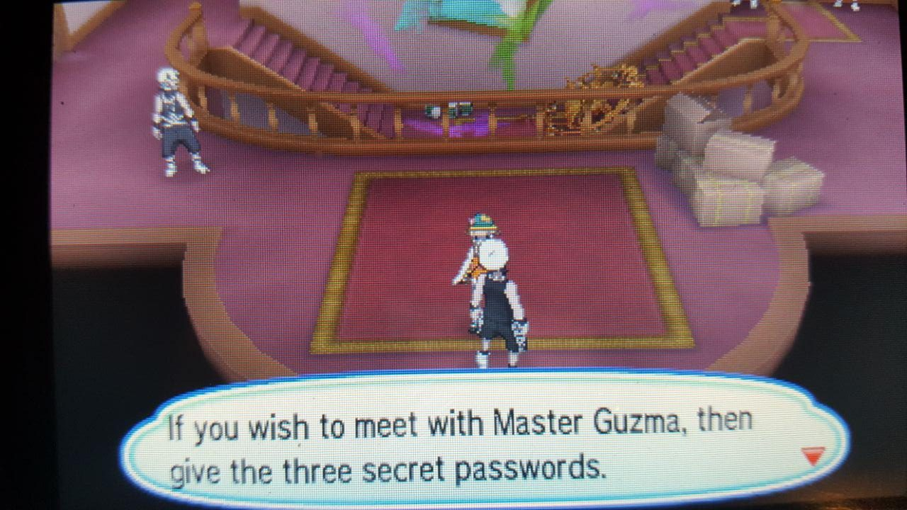 Team Skull Passwords Pokemon Ultra Sun and Ultra Moon