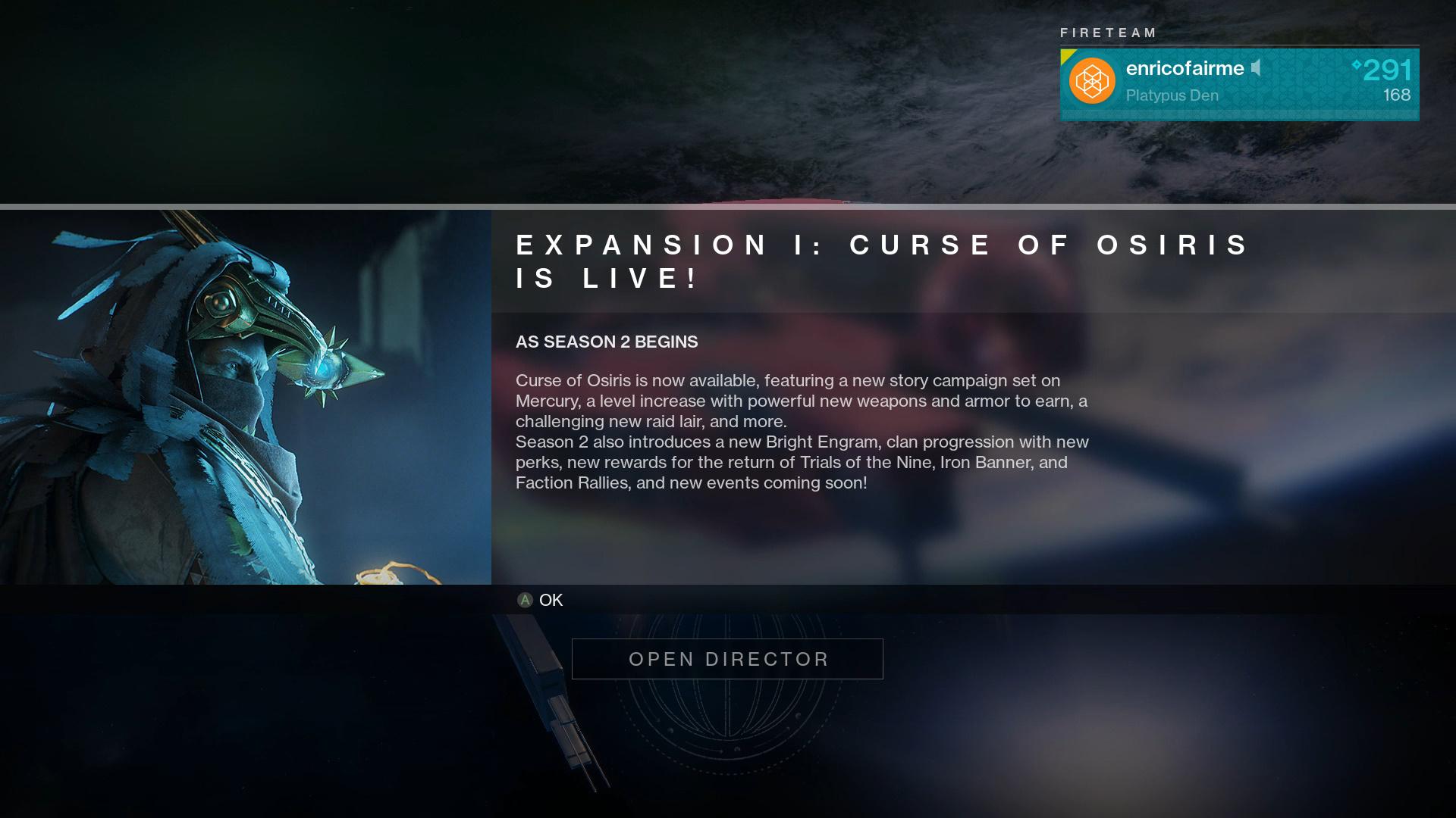 How to Access Curse of Osiris Destiny 2 DLC