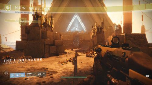 Destiny 2 Curse of Osiris Beyond Infinity Quest