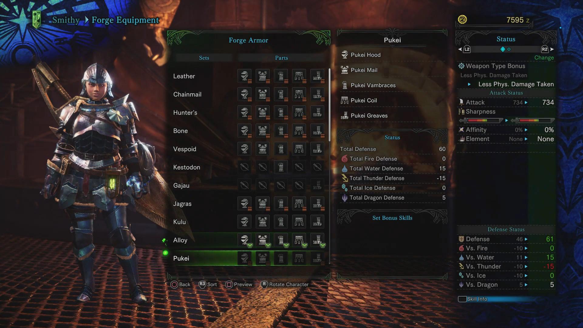Rarity 2 Armor Sets Monster Hunter World
