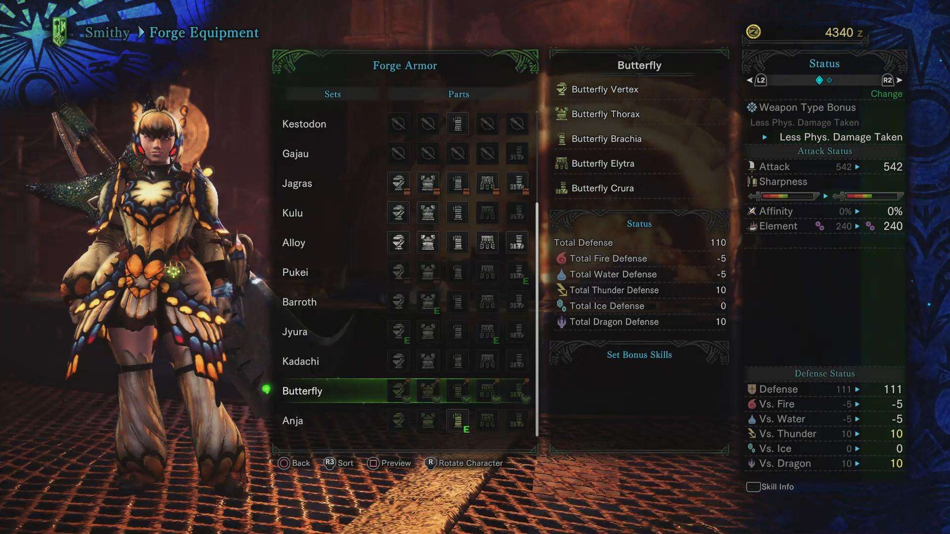Low Rank Armor List Monster Hunter World