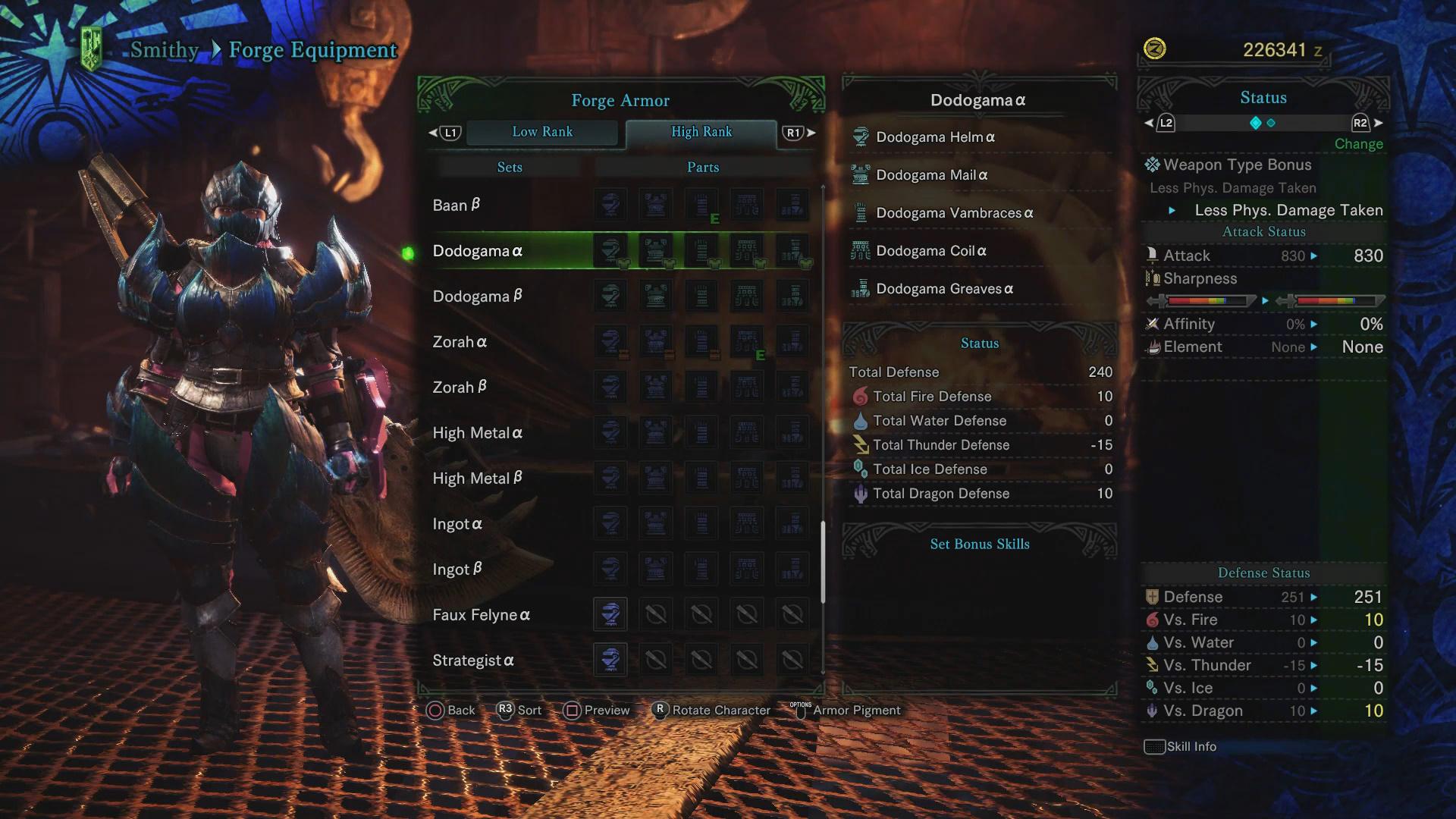 Dodogama Guide: Monster Weakness, Carves & Rewards, Armor
