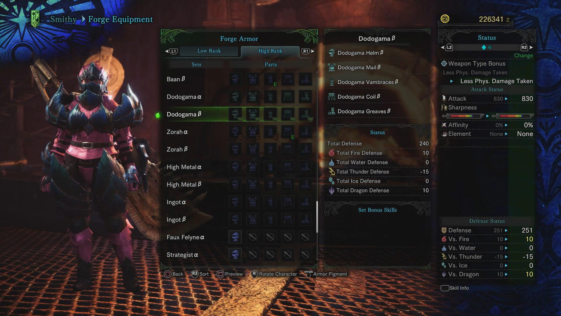 Dodogama Guide: Monster Weakness, Carves & Rewards, Armor Sets