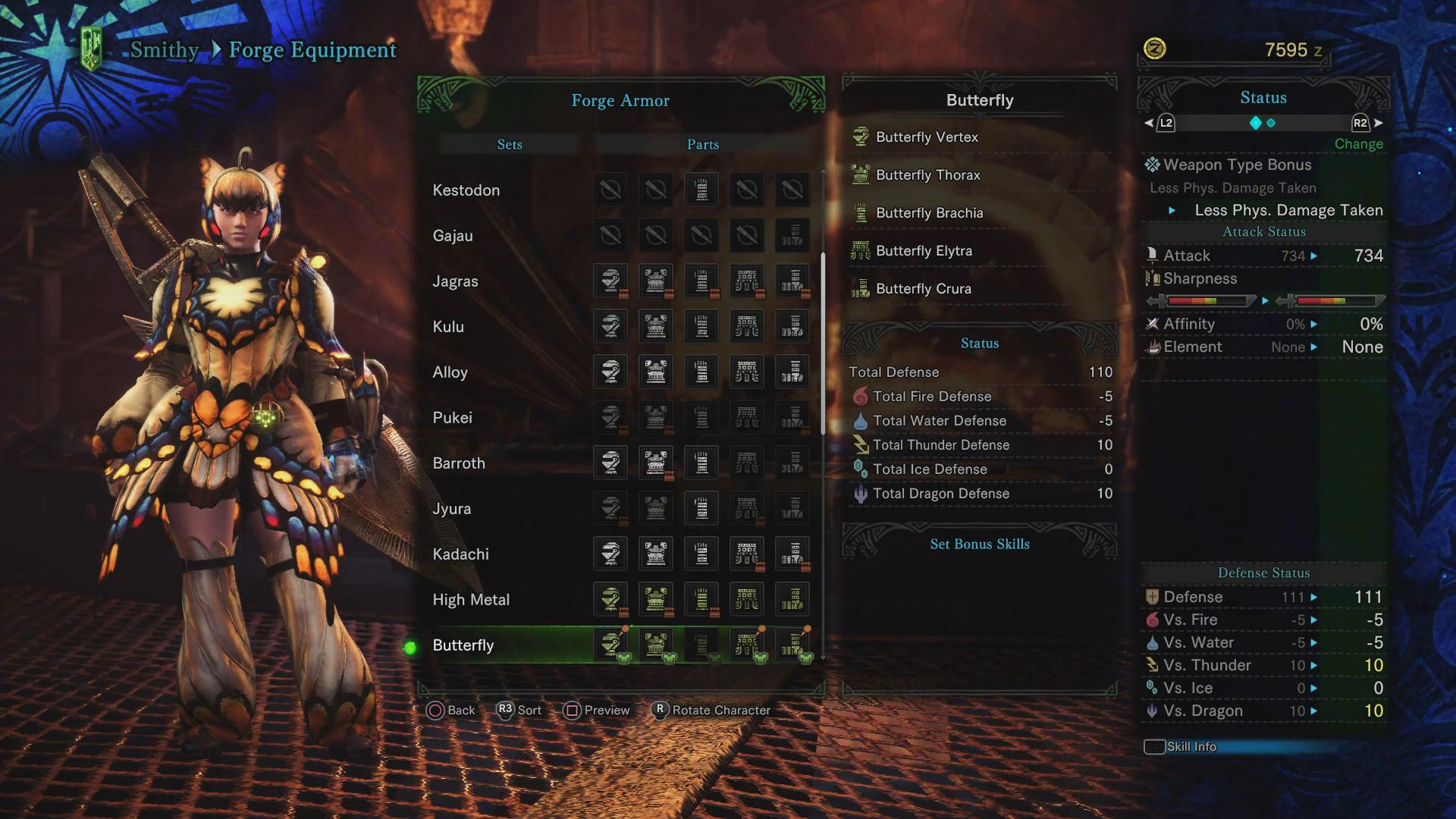 Rarity 3 Armor Sets Monster Hunter World