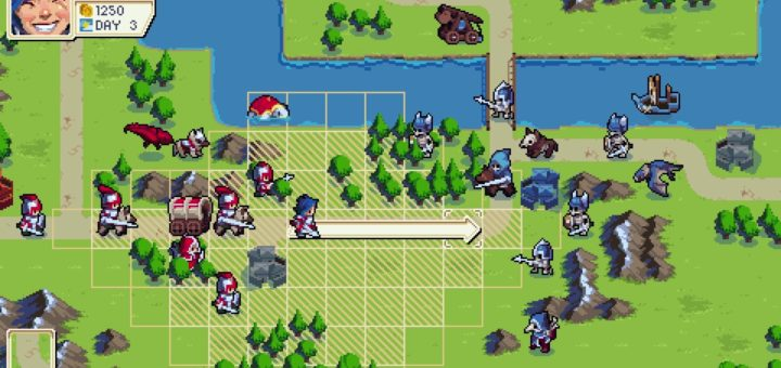 A screenshot from Chucklefish's upcoming title Wargroove.