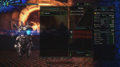 Image of the Palico Set earned after completing the Lessons of the Wild Event in Monster Hunter: World