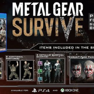 Metal Gear Solid Survive Preorder Bonus