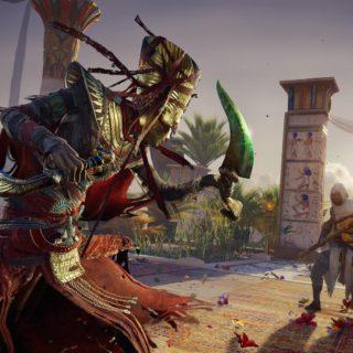 Assassin's Creed Origins- Curse ofthe Pharaohsfootage