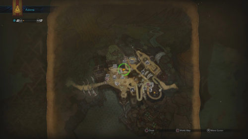 Image of the Hog in a Frog map location