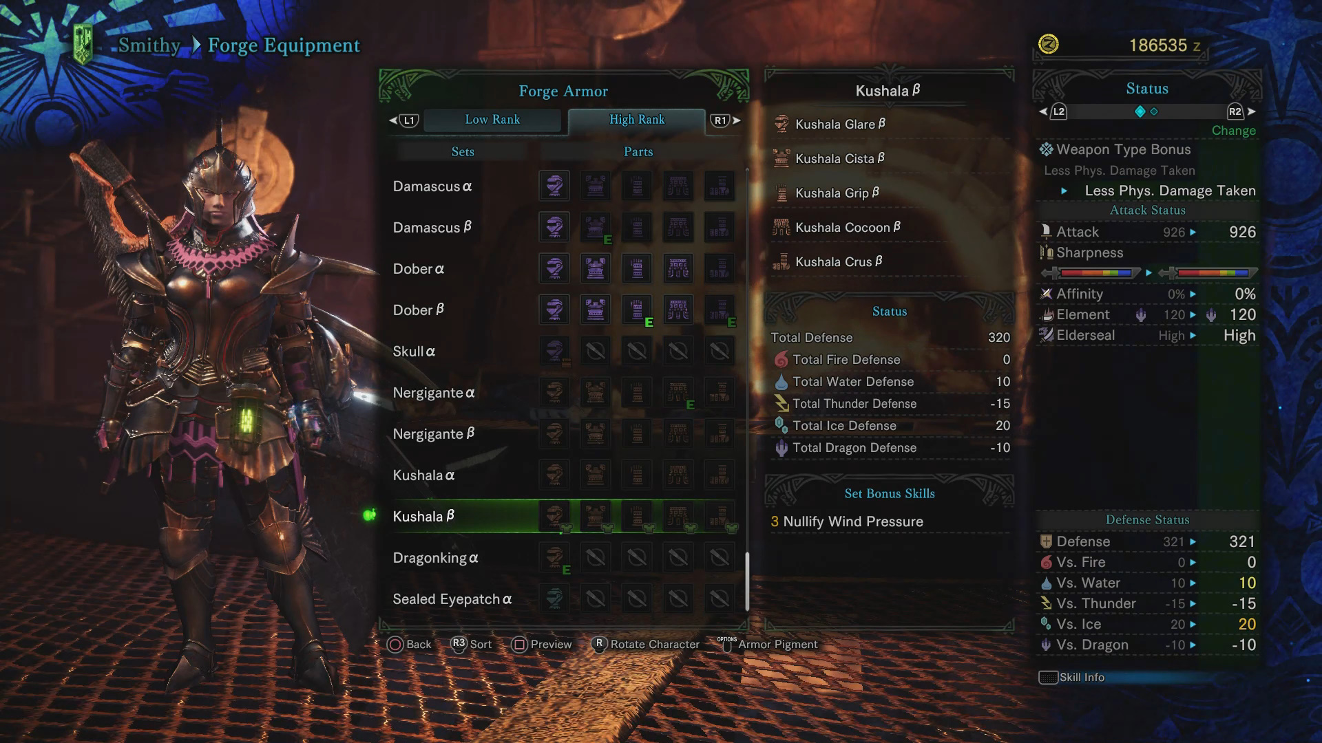 Kushala Daora Guide: Weakness, Carves & Rewards, Armor Sets
