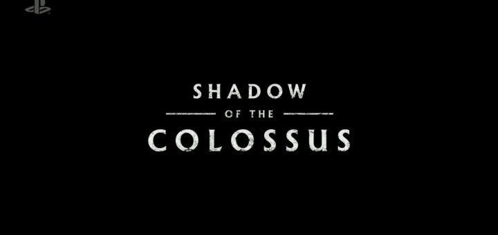 Image of Shadow of Colossus Remake logo. This is our featured image on our Upcoming Game Releases post.