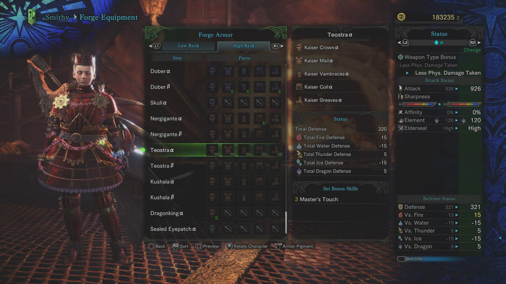 Teostra Guide: Monster Weakness, Carves & Rewards, Armor Sets
