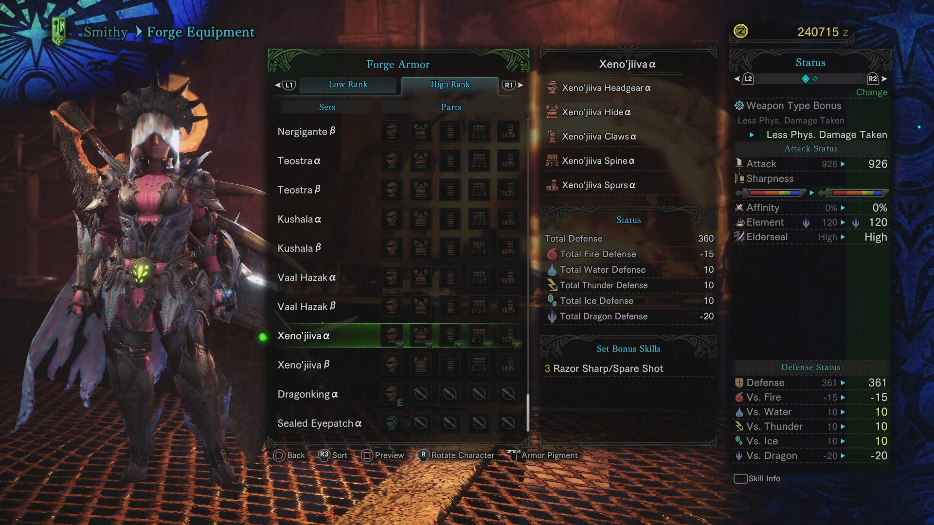 Xeno'jiiva Guide: Monster Weakness, Carves & Rewards, Armor Sets