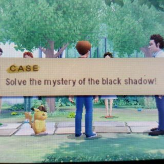 Solve the Mystery of the Black Shadow
