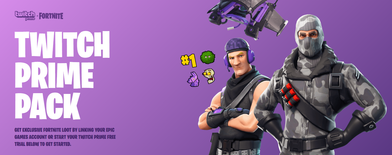 the fortnite twitch prime pack is only available to members of twitch that have linked their amazon prime with twitch this means you need to have both a - link twitch to fortnite ps4