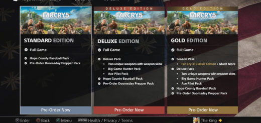 How to Access Far Cry 5 DLC Items - Various Far Cry 5 editions are for sale.