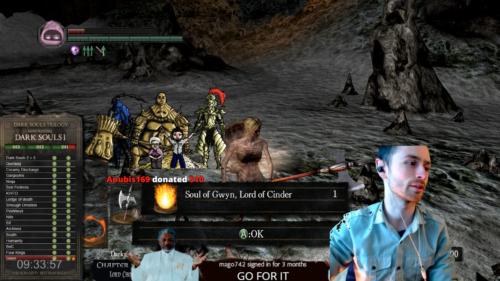The Happy Hob no hit runs all three Dark Souls games.