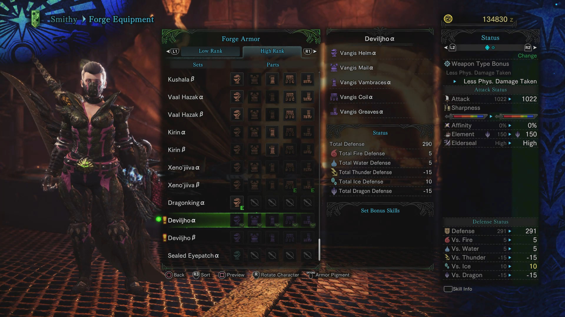 Deviljho Guide: Monster Weakness, Carves & Rewards, Armor