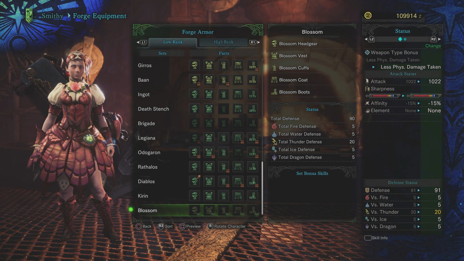 Everything in the Spring Blossom Event - Monster Hunter World