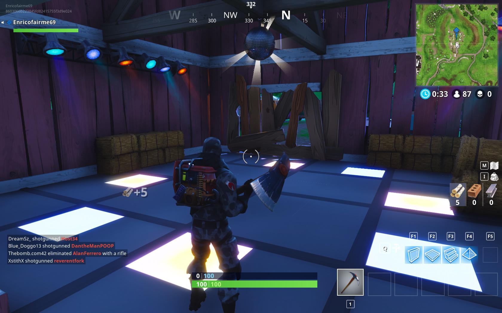 Dance On Different Dance Floors Challenge Fortnite Battle Royale