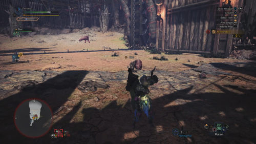 The A Rush of Blood event has you squaring off with two Odogarons.