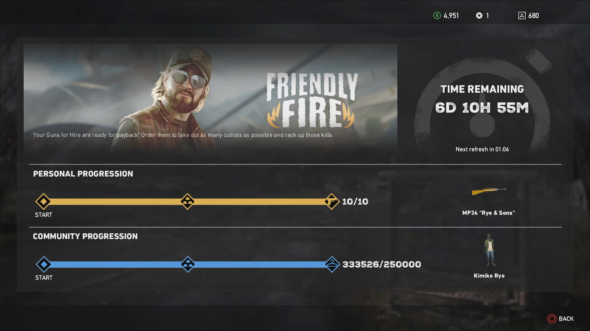Friendly Fire Live Event Guide - Far Cry 5