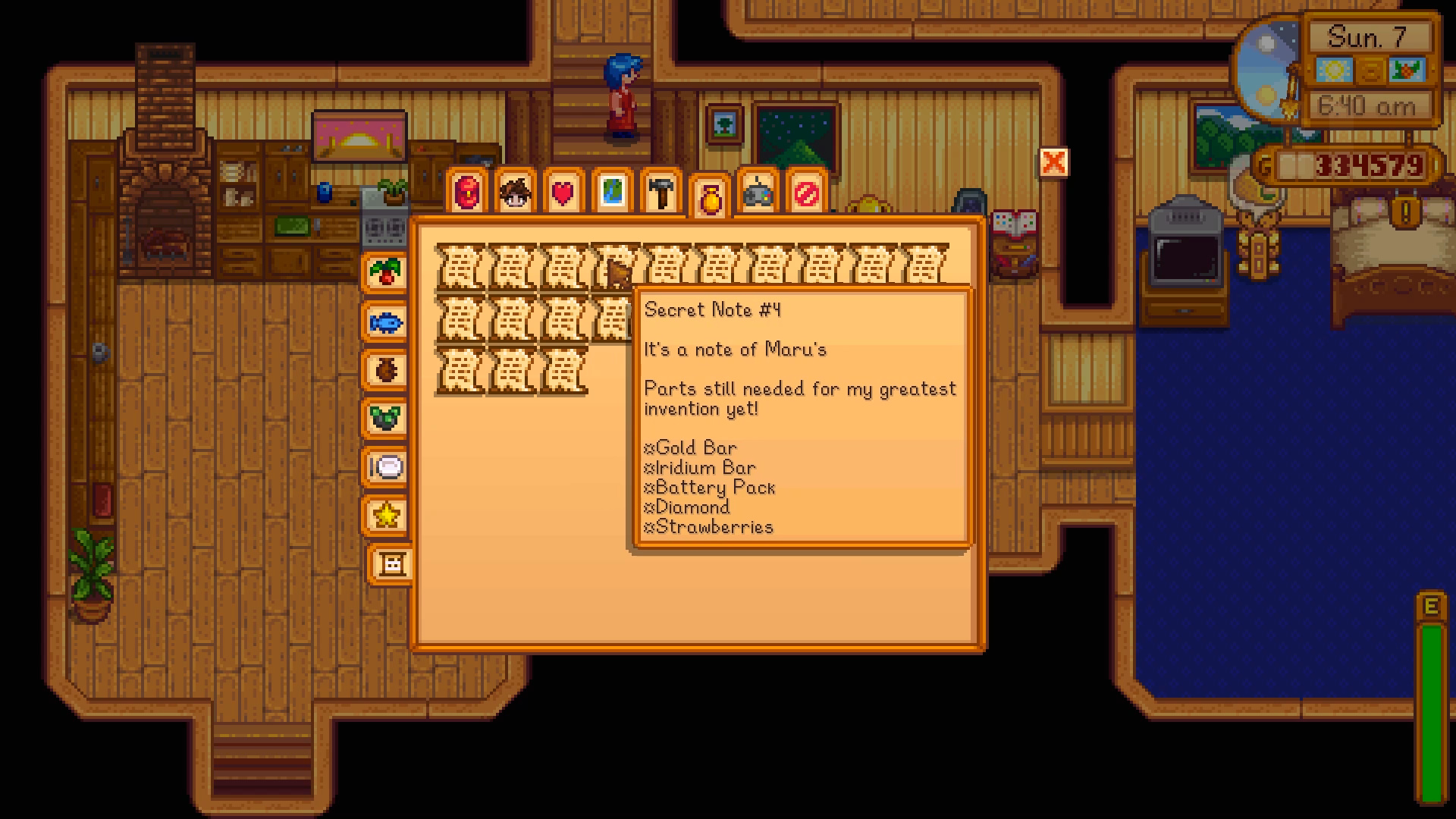 Secret Notes What They Say Rewards They Give Stardew Valley