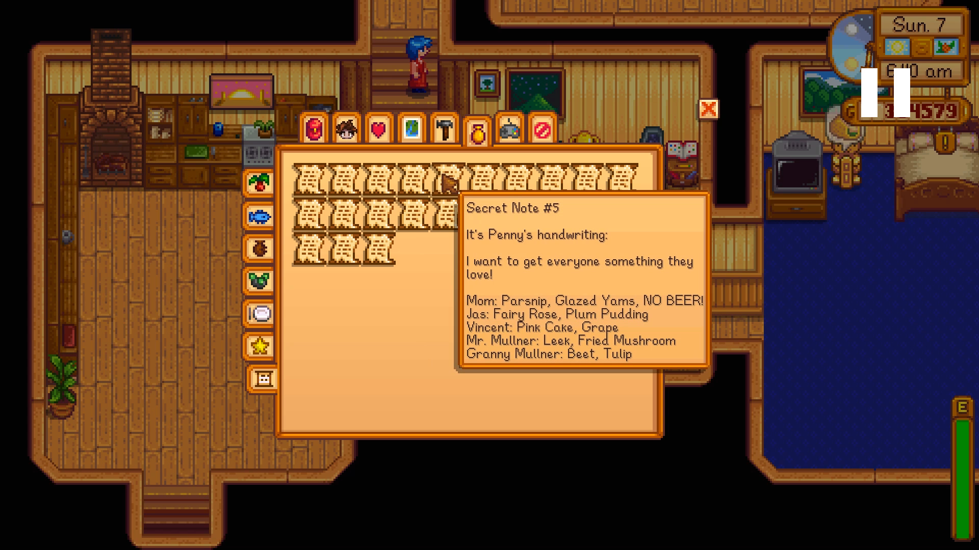 Secret Notes: What They Say, Rewards they Give - Stardew Valley