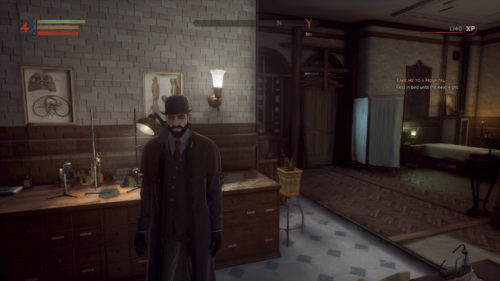 The Dark Physician outfit in Vampyr.